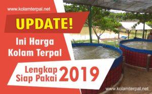 Ini Harga Kolam Terpal Lengkap Siap Pakai 2019