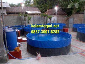 Produsen kolam terpal Palembang