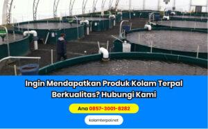 Perlengkapan Budidaya Ikan Lele - Kolam Terpal